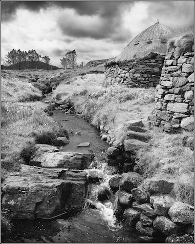 Siabost Norse Mill and Kiln, Isle of Lewis, Scotland