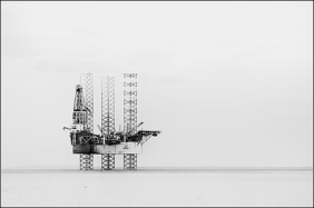 Floating Meccano, Cromarty Firth, Scotland
