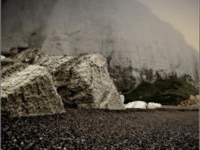 Chalk Chunks - Normandy, France
